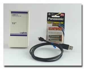 低温対応 温湿度データロガー LS3000-TH