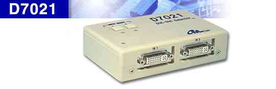DVI 2入力 1出力 セレクタ D7021
