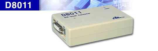 DVI入力 アナログ出力 D/A変換機 D8011