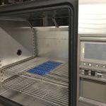 恒温恒湿器での試験測定を行う「小型温湿度 データロガー LS350-TH」