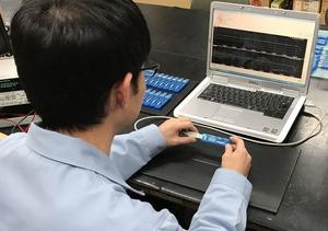 検査工程_小型温湿度 データロガー LS350-TH