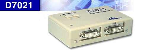 DVI切替器 2入力1出力 セレクター_D7021
